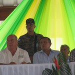 Randy Jorgensen and President Porfirio Lobo